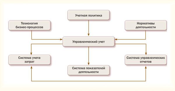 Структура управленческого учёта